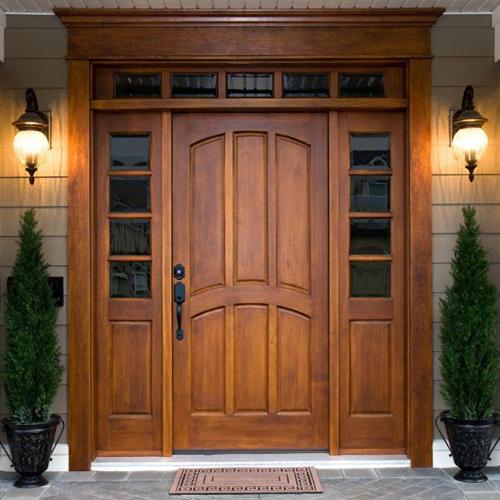 täispuidust uksed